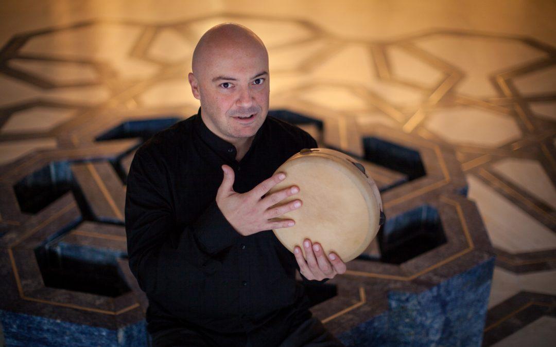 Masterclass breve. Tamburi a cornice senza sonagli con Andrea Piccioni